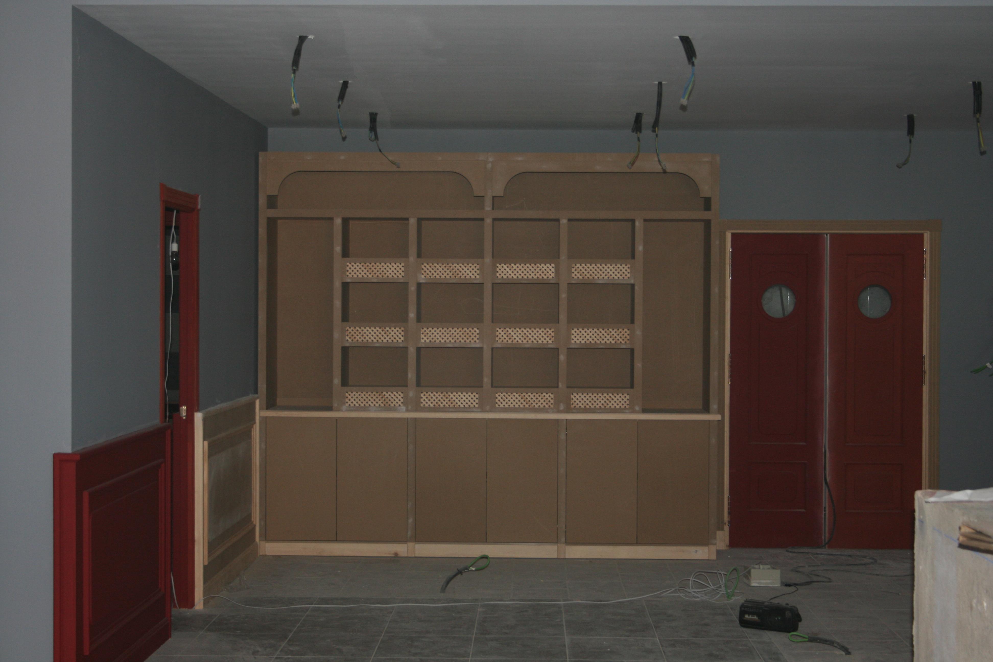 Carpinter a galea fabricaci n de muebles a medida con for Fabricacion de muebles mdf